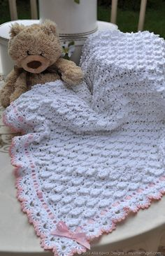 Fluffy Clouds Crochet Blanket Pattern