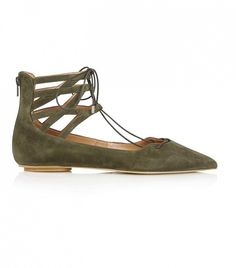 Topshop Kathy Ghillie Poitned Shoes