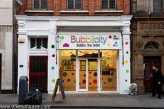 Abbey Street Now Has A Bubblicity Bubble Tea Shop Bubble Tea Shop, Bubble Milk Tea, Coffee Carts, Coffee Shop, Tapioca Bubble Tea, Tea Lounge, Bubble Style, Tea Cafe, Tea Brands