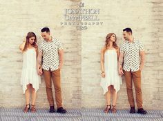 Franklin Tennessee Engagement Diptych