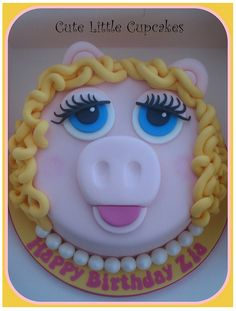 Miss Piggy Cake - This is the WINNER!