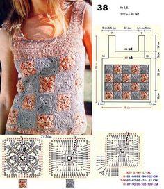 Crochet Patterns: TOP