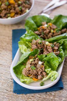 Easy Asian Lettuce Wraps (30 Minute Mondays!)