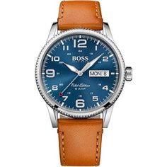 Relógio Hugo Boss Masculino Couro Marrom - 1513331