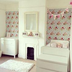 Wall Paper Bedroom Ideas Vintage Cath Kidston 50 Ideas For 2019 Cath Kidston Nursery, Cath Kidston Baby, Cath Kidston Home, Uni Bedroom, Girls Bedroom, Bedroom Ideas, Nursery Ideas, Nursery Decor, Ux Design