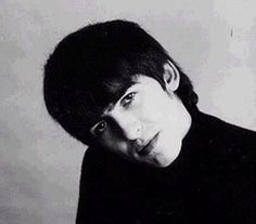 another cute early shot of #georgeharrison #beatles