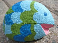 Lu Bird Baby: Painted Rocks