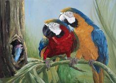Amazonas - Pintura a óleo