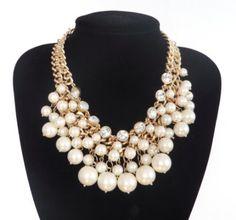 2 Broke Girls Artificial Pearls Necklace