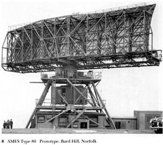Type 80 Radar prototype. Transmitted between 2850 and 3050 MHz, with an output of 1 mw (Mark 1 and 2) to 2.5 mw (Mark 3). It had an effective range of 350 km