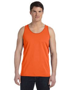 Bella + Canvas Unisex Jersey Tank 3480 ORANGE