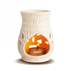 Odonil Occasions Oil Burner OB-Burner How to use-: To use an oil burner, fill the bowl at the top of the burner with water and place a few drops of essential oils on the water, then place a lighted tea light underneath the bowl. The water and essential oils evaporate as steam, letting the aroma of the essential oils fill the room. The bigger the room, the more oil will be required.