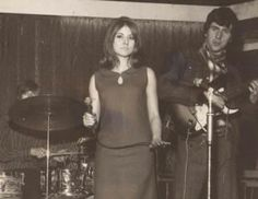 """1965 KAROL KEYES (aka Luan Peters)& THE BIG SOUND. Manchester Mod group that morphed into Hard R&B/Psych band SIMON DUPREE & THE BIG SOUND. Karol Kaye was actually B Movie -Hammer  Horror Films  actress LUAN PETERS.. Who starred in """"Lust For Vampire"""",""""Go Girl"""" & lots of TV like Dr Who..before all of that she did singles with THE BIG SOUND.. Ike & Tina's """"Fool in Love"""" & Motown classic """" You Beat Me To The Punch"""". Her band originally played Manchester clubs as THE FAT SOUND..modeling…"""