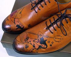 Gucci/McQueen tattooed shoes they-will-frock-yo-man