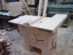 Making a Homemade Table Saw
