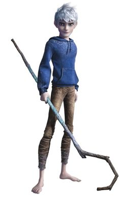 Rise of the Guardians - Jack Frost (voice of Chris Pine). I'm not head-over-heels in love with him like some other females are, but he is a pretty awesome character.