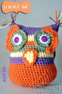 Follow the crochet instructions provided to make an adorable Owl Amigurumi. Your little ones will love this new addition.