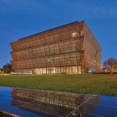 The Smithsonian Institute's National Museum of African American History and Culture designed by Freelon Adjaye Bond/SmithGroup is set to open tomorrow in Washington, DC. National African American Museum, African American History Museum, African Museum, American Story, National Museum, National Mall, National Parks, Black History Month, Beautiful Buildings
