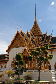 Dusit Maha Prasat Hall, Bangkok, Thailand.