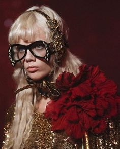 Tricked-out bejewelled spectacles lend a nerdish charm to the decorative trend but early adopters are adding high-brow polish to their look with sleek wire frames. See the ten best pairs of spectacles to buy now via the link in bio  via BRITISH VOGUE MAGAZINE OFFICIAL INSTAGRAM - Fashion Campaigns  Haute Couture  Advertising  Editorial Photography  Magazine Cover Designs  Supermodels  Runway Models
