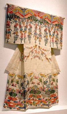 "Yuken Teruya "" You-I, You-I "" Yuken Teruya is an artist based in New York. He works with various materials such as to. Japanese Textiles, Japanese Patterns, Japanese Design, Japanese Outfits, Japanese Fashion, Geisha, Traditional Japanese Kimono, Kimono Design, Yukata"