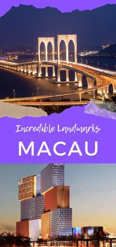 18 Incredible Macau Landmarks For Your Bucket List. Macau's monuments and buildings are up there with some of the best landmarks in China. #unesco #ruinsofstpauls #travel #macautravel #macao