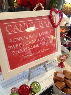 Wedding Candy Bar/Buffet Sign or Poster DIY by WeddingsByJamie