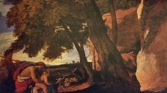 THE INFANCY OF BACCHUS. suggested date : 1627 / oil on canvas. Provenance : in the collection of Sir Joshua Reynolds with a pendant wich is now untraced. Derek Johns Ltd. Nicolas Poussin, Joshua Reynolds, Bacchus, Infancy, Oil On Canvas, London, Pendant, Painting, Collection