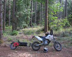 Pull Behind Motorcycle Trailer 28
