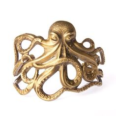 Octopus Cuff $209 for the Ursula in me.