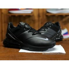 finest selection 24b1a 63f0b NIKE AIR MAX 270 PREMIUM AO8283 010 Mens Running Shoes Black Grey Top Deals