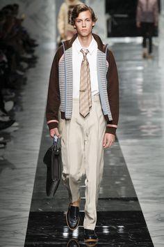Fendi Spring 2018 Menswear Fashion Show Collection