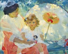 """Joyce and her Nurse,"" Martha Walter"