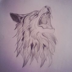 Morning's work. I really love this wolf