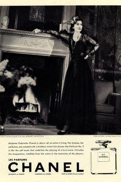 Les parfums Chanel. nº5. #CocoChanel #GabrielleChanel