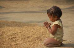 God answers childrens prayers first...