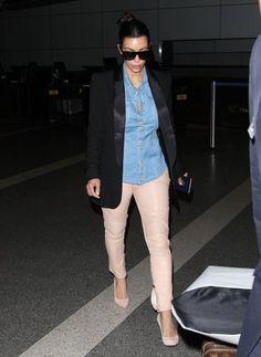 Kim Kardashian Photos: Kim Kardashian Arrives at LAX