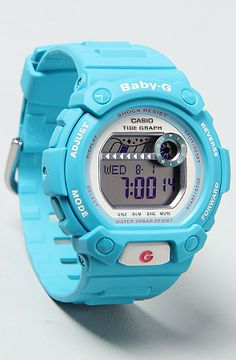 The Baby-G Baby Blue Watch by G-SHOCK