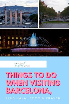 Here are the top attractions and things to see and do in Barcelona from from a personal experience of Fatima of Blogs by FA. Bonus: there are many halal places in Barcelona as well as mosques where you can pray!
