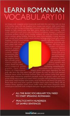 Learn Romanian - Word Power 101 by Innovative Language Romanian Language, Beauty Around The World, Language Study, Always Learning, Book Nooks, Helpful Hints, Innovation, Literature, Languages