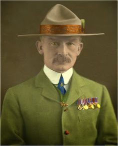 Baden Powell founder of the Scouting - Baden Powell fundador del Escultismo Cub Scouts, Girl Scouts, Alfabeto Braille, Victor Ortiz, Robert Baden Powell, Boys Life, People Of Interest, Scout Leader, Thinking Day