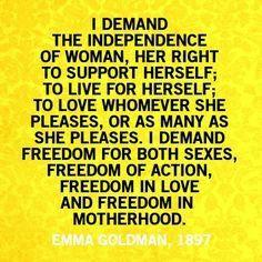 Emma Goldman quote