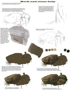 rock and stone help-tutorial by true-crystalwolf.deviantart.com on @DeviantArt