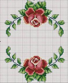 Cross Stitch Boarders, Cross Stitch House, Cross Stitch Bookmarks, Cross Stitch Flowers, Hardanger Embroidery, Cross Stitch Embroidery, Hand Embroidery, Cross Stitch Pattern Maker, Cross Stitch Patterns