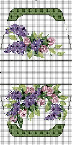 Lilac n roses.  No color chart.  Яндекс.Фотки