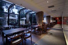 Grill & Sushi Bar by GATE interior design office, Shanghai