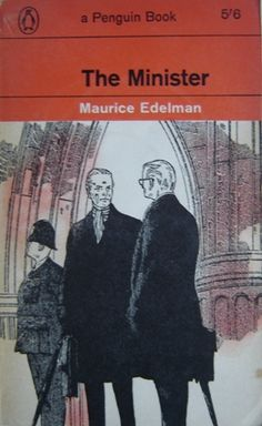 The Minister by Maurice Edelman #vintage penguin paperback