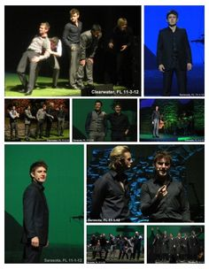 Celtic Thunder at The Van Wezel in Sarasota, Florida and at Ruth Eckerd Hall in Clearwater, Florida.