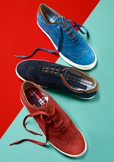 Go Bright: Kick Up the Pace TOMMY HILFIGER #oxfords #wingtip BUY NOW!