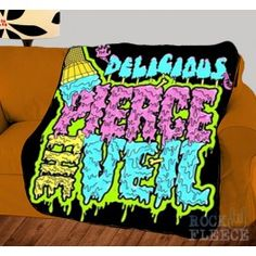 Pierce the Veil post-hardcore band Cover Photo Plush Fleece Throw Blanket Bedspread - SuitUpCaseCover